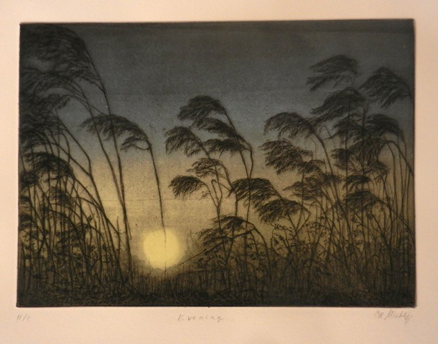 29. Cathy Mulhy, etching aquatint