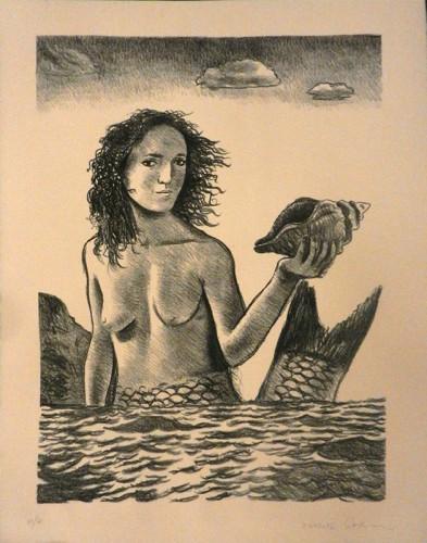 3. Charles Basman, stone lithograph