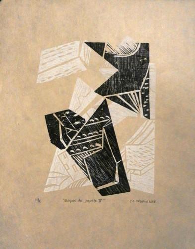 31. Caroline Ongpin, woodcut