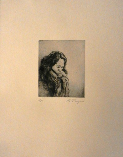 33. Mark Pagano, etching