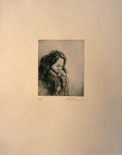 33. Mark Pagano, etching