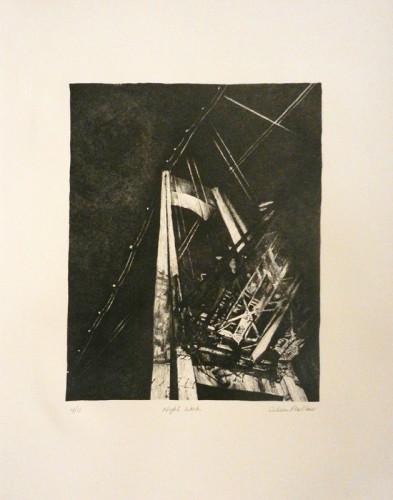 37. Colleen Pike-Blair, stone lithograph
