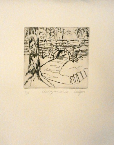 38. Marylin Rogers, etching