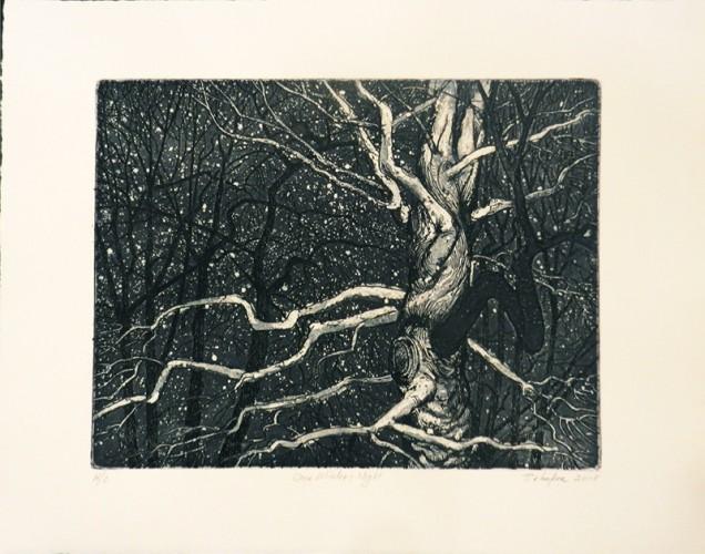 4. Bill Behnken, etching aquatint