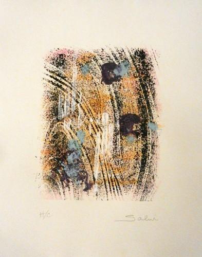 40. John Salvi, monoprint