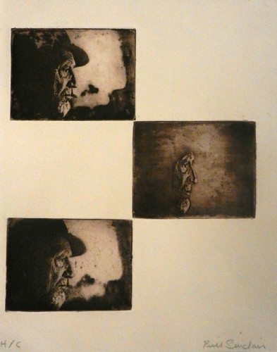 41. Bill Sinclair, photo etching