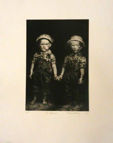 46. Patricia Van Ardoy, photo etching.tif $80.