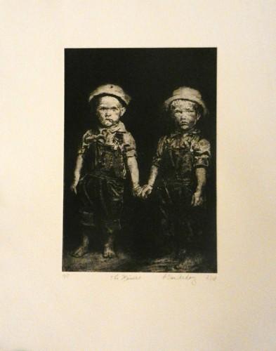 46. Patricia Van Ardoy, photo etching.tif $80.