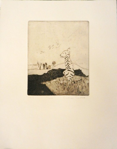 7. Carolina Cardoso, etching