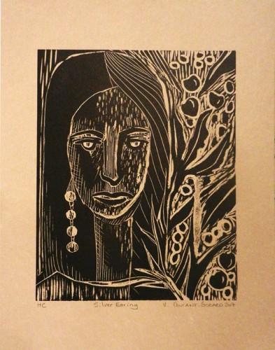 9. Veronique Coutant-Godard, woodcut