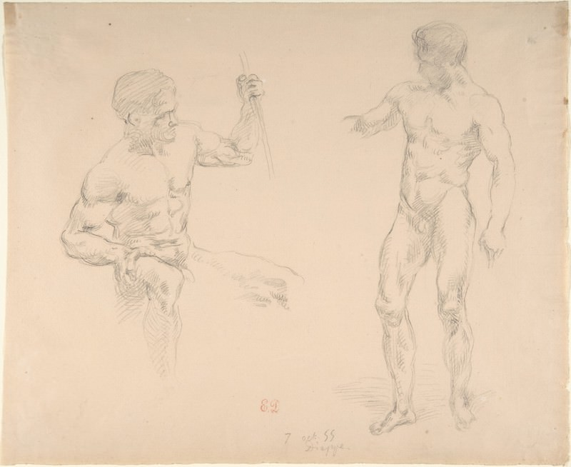 Delacroix's <i>Devotion to Drawing</i>