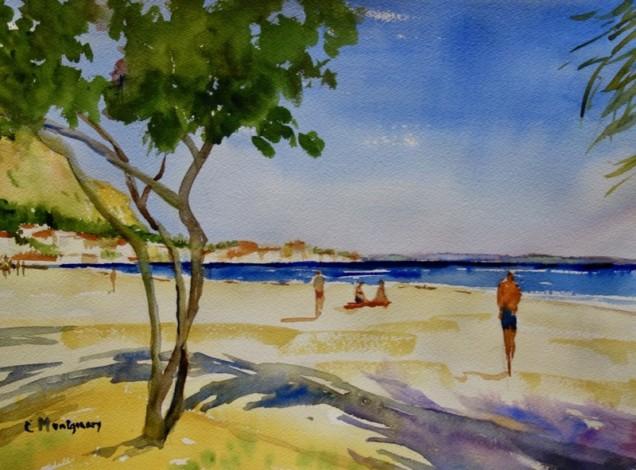 Watercolor by Carol Montgomery