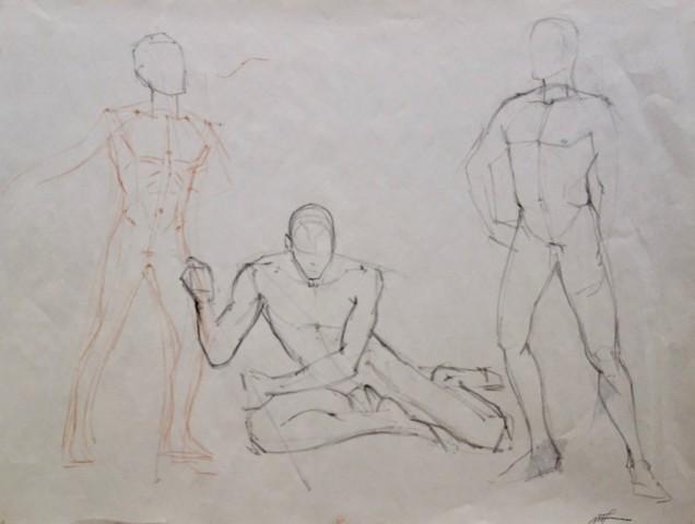 Drawing by Michael Trovela