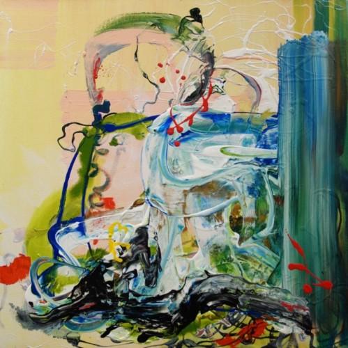 Painting by Amanda Pappalardo