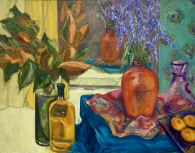 Painting by Francine Nyari