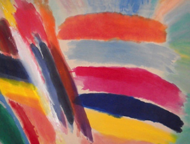Ronnie Landfield Paintings