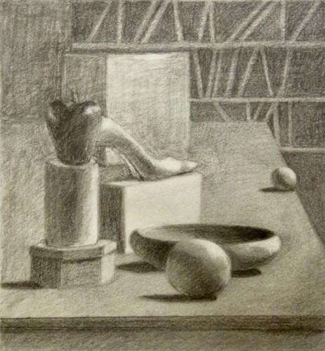 Drawing by Barbara Weinstein