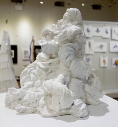 Mixed media work by Ana-Maria Morar