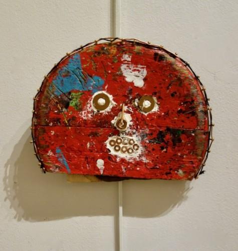 Mixed media work by Richard Klotz