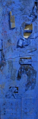 Mixed media work by Susan Pick