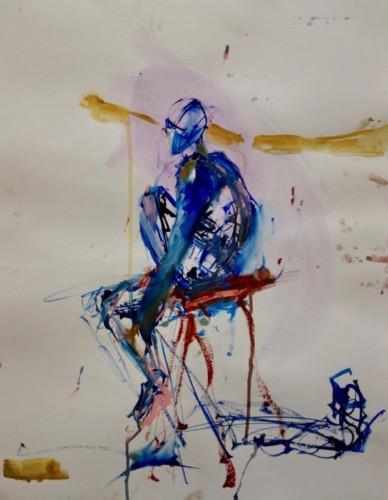 Watercolor by Bonnie Schertz