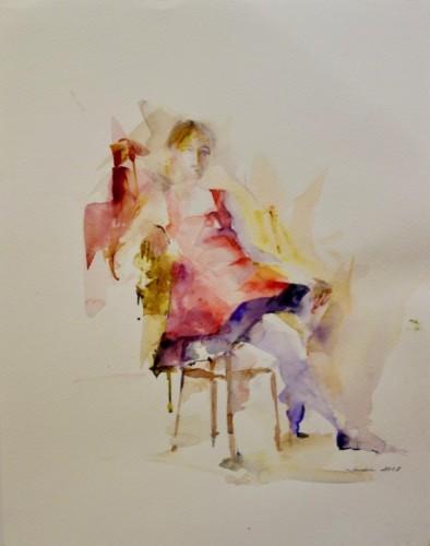 Watercolor by Janina Juszczak