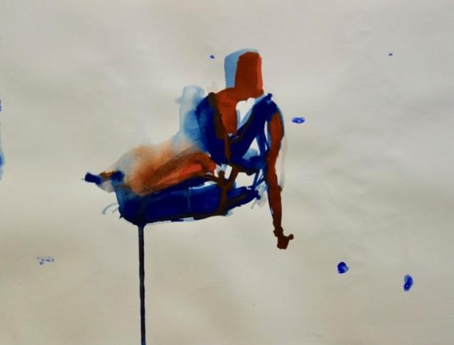 Watercolor by Julia Elizandro