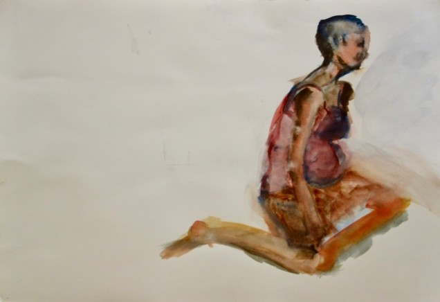 Watercolor by Linda Maassen