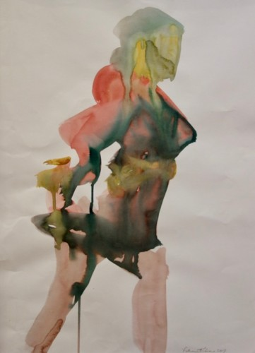 Watercolor by Patrice Kirkinis