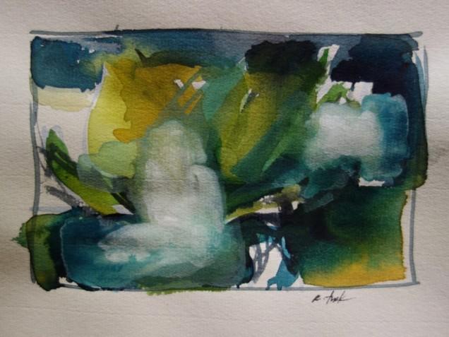 Watercolor by Rosemarie Turk