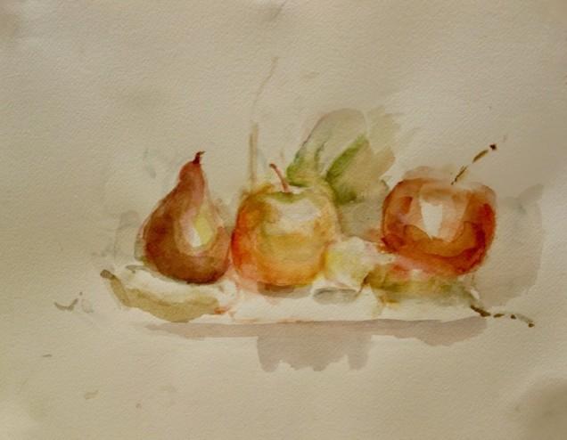 Watercolor by Sheila Cappelletti