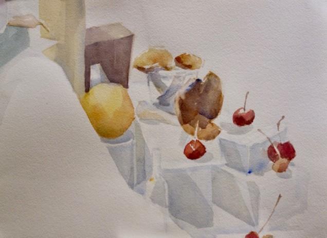 Watercolor by Yuko Takei