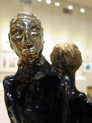 Ceramic sculpture by Alan Reddick