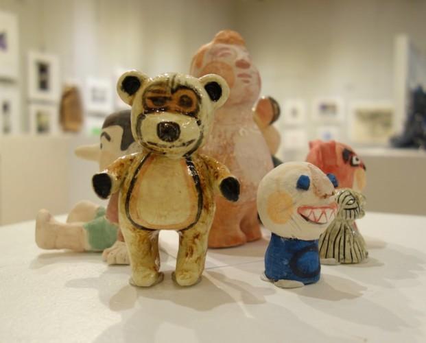 Ceramic sculptures by Gerald Todd