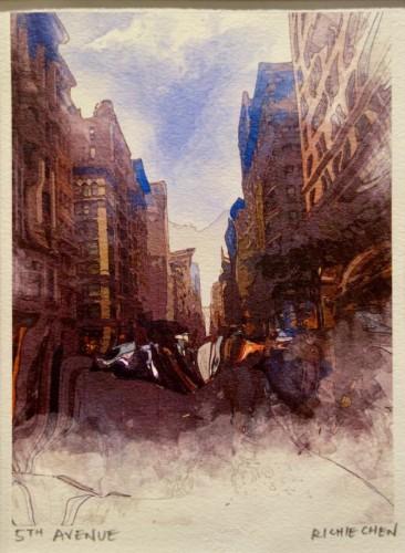 Digital ink transfer by Richie Chen