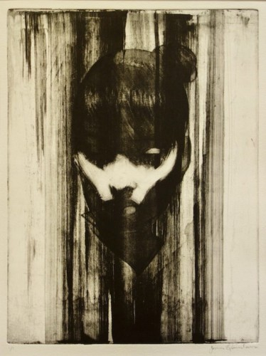 Etching by James Quinlan