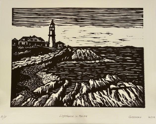 Print by Charles Gessner