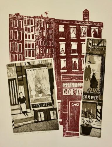 Print by Ellen W. Nathan Singer
