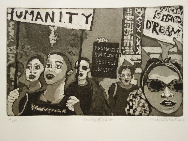 Print by Marc Pelletier