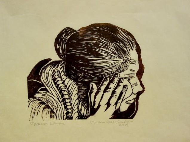 Print by Miriam Cheikin