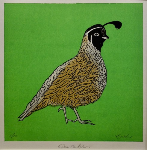 Woodcut by Katharine Butler