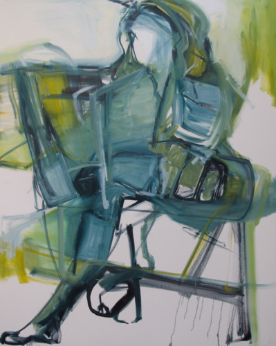 Chenoa_Alecia_Evelyn Reading_2018_60x48_Oil on Canvas