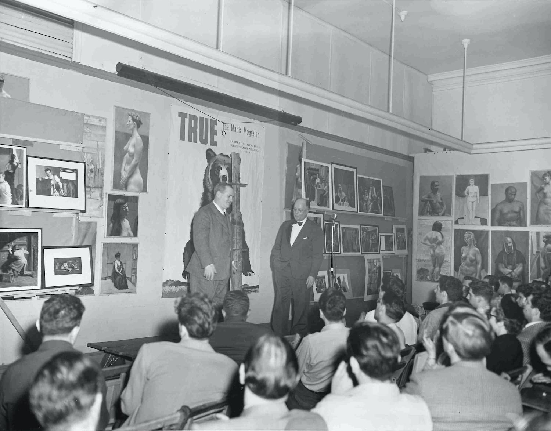 Returning GIs Revitalized the Art Students League