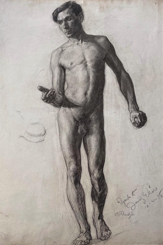 A Master Instructor of Artistic Anatomy: George B. Bridgman