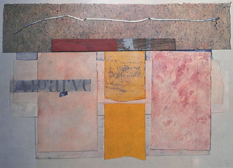Bruce Dorfman, Loulé, Loulé, 1993. Painted media, 26 x 28 in.