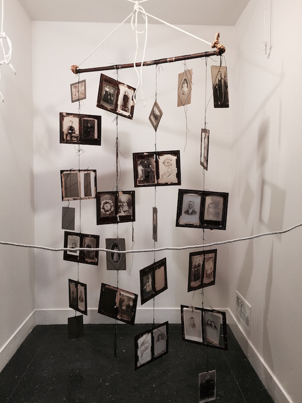Sherry Camhy's installation Another Time, Another Place