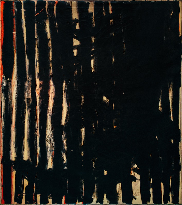 Knox Martin, Garden of Time, 1956. Oil on canvas, 60 x 53 in. ©Knox Martin/Licensed by VAGA, New York, NY