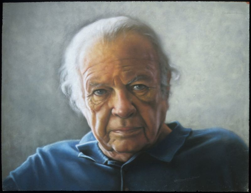 Ephraim Rubenstein, My Father, 2009. Pastel on sanded board, 25 x 36 in.