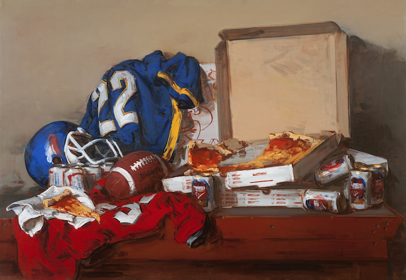 Thomas Torak_After the Game_36x52_oil on linen_2001